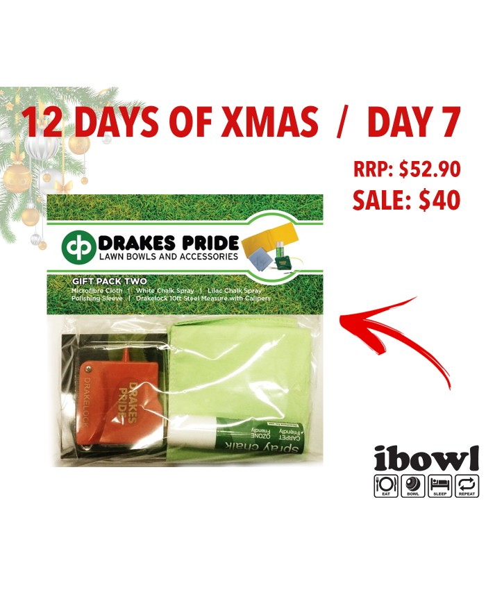 DAY 7 - DRAKES PRIDE LAWN BOWLS GIFT PACK 2
