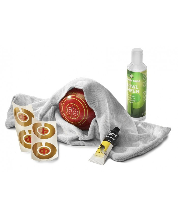 DRAKES PRIDE LAWN BOWLS POLISHING KIT