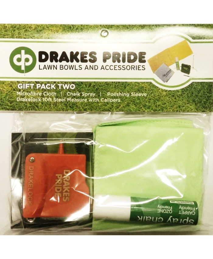 DRAKES PRIDE LAWN BOWLS GIFT PACK 2