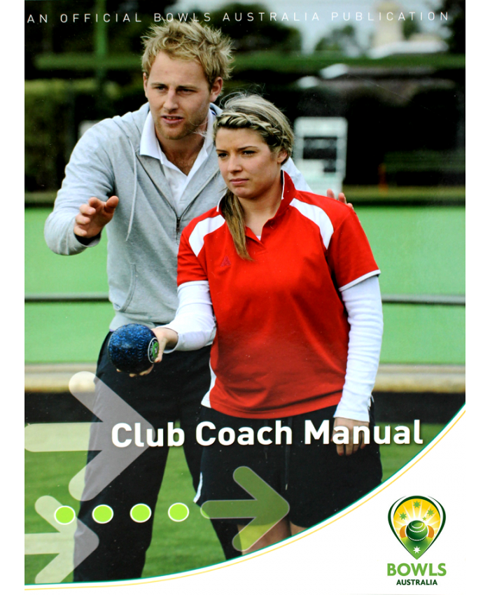 CLUB COACH MANUAL