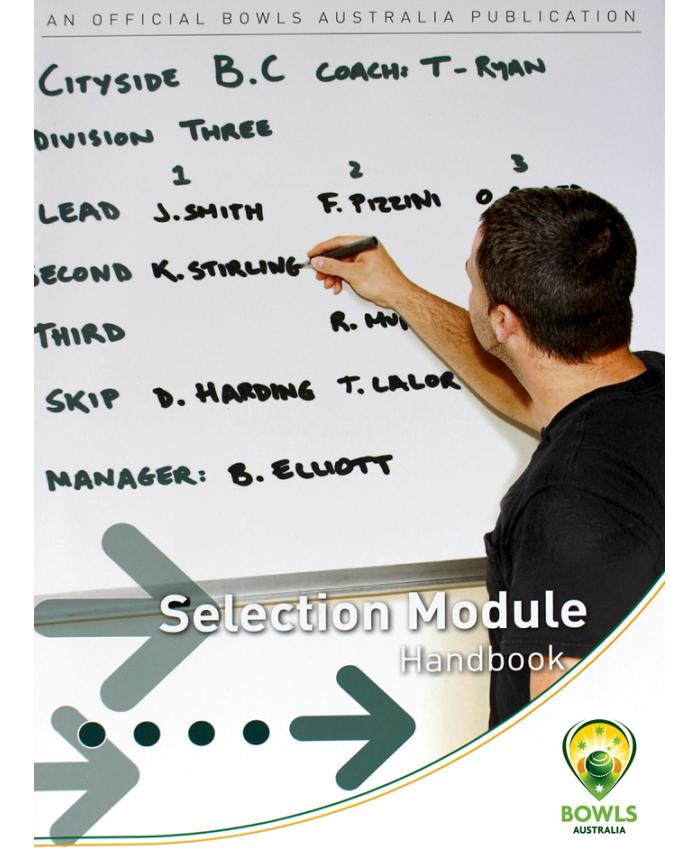 SELECTION MODULE HANDBOOK