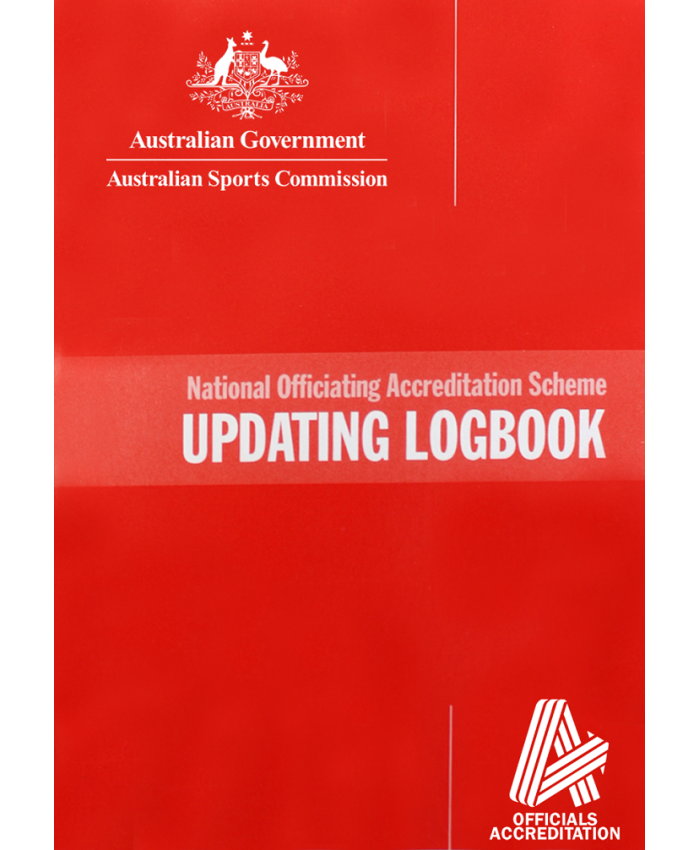 UMPIRES UPDATING LOGBOOK