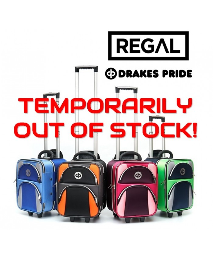 "DRAKES PRIDE ""REGAL"" LOCKER TROLLEY LAWN BOWLS BAG - TEMPORARILY OUT OF STOCK!"