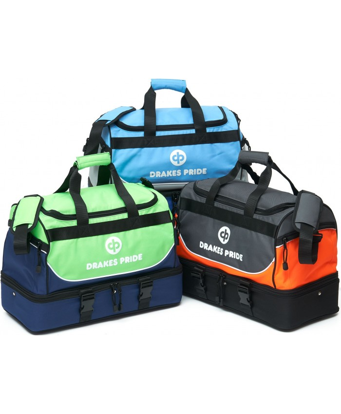 """DRAKES PRIDE """"NEW & IMPROVED"""" PRO MAXI LAWN BOWLS BAG Incl INSERT BAGS"""
