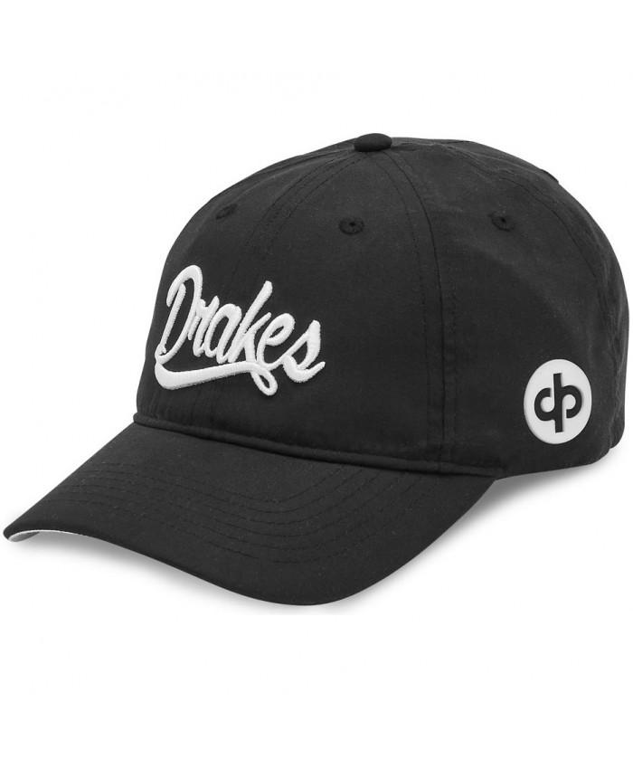 DRAKES PRIDE SIGNATURE LAWN BOWLS CAP BLACK/WHITE