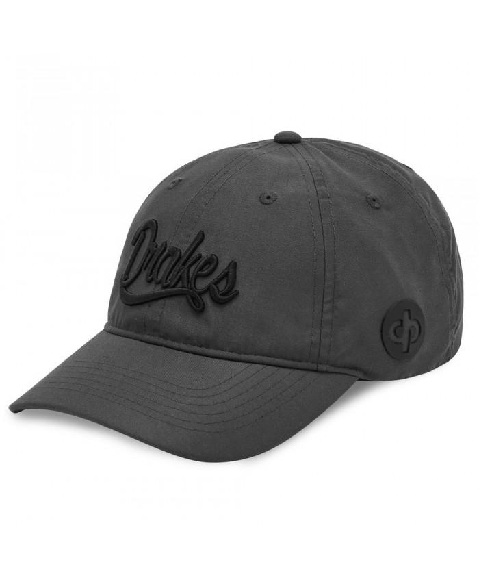 DRAKES PRIDE SIGNATURE LAWN BOWLS CAP GREY/BLACK