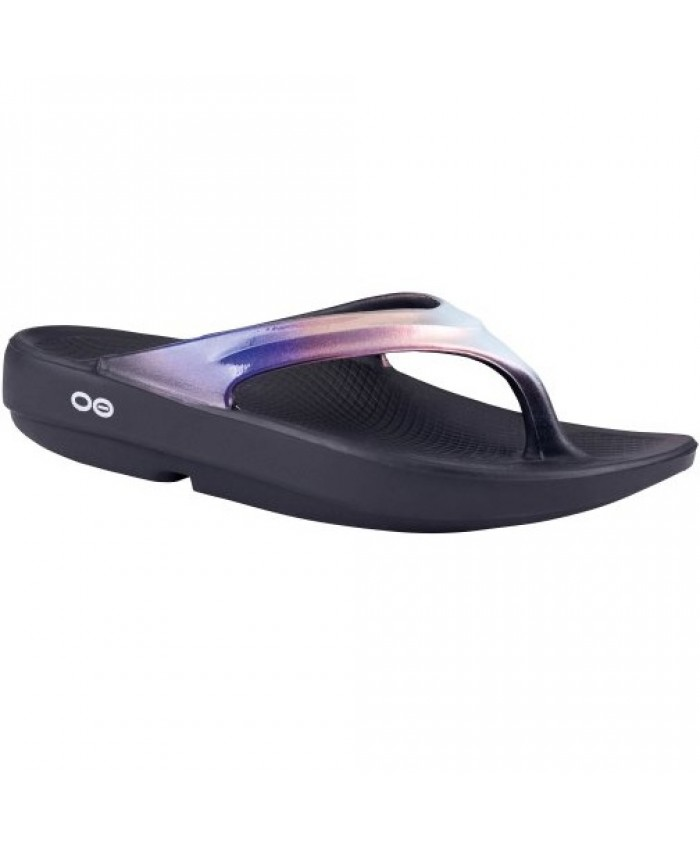 f04d3418daf9 OOFOS OOLALA LUXE LAWN BOWLS THONGS CALYPSO