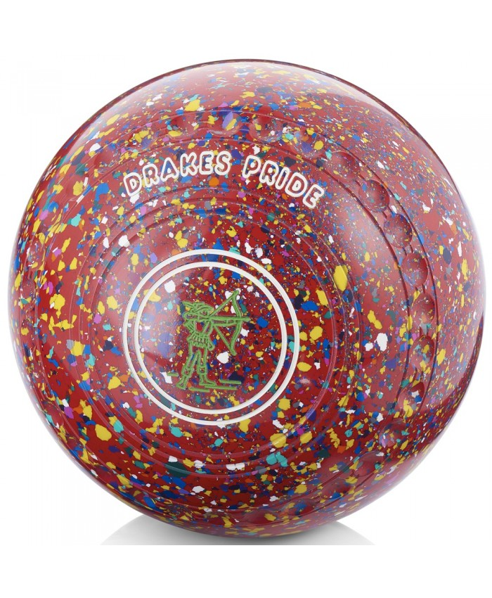 DRAKES PRIDE CONQUEST COLOURED LAWN BOWLS