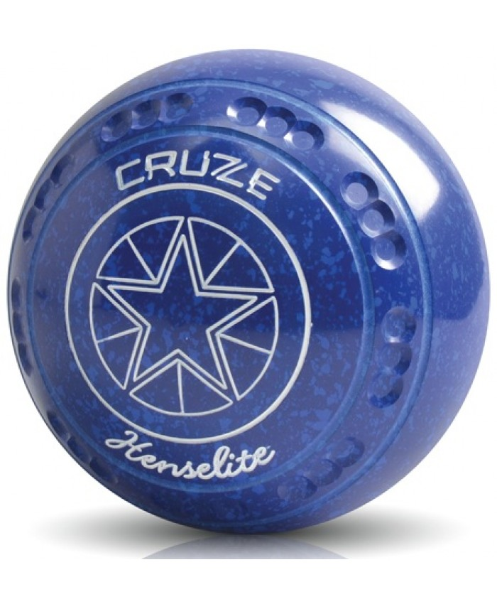 HENSELITE CRUZE COLOURED SPECKLED LAWN BOWLS