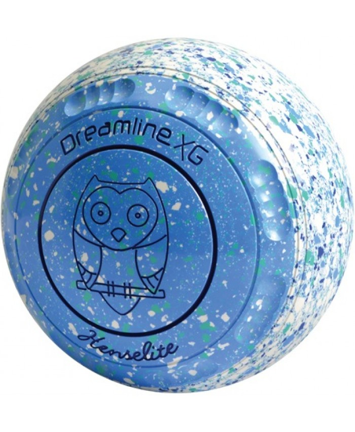HENSELITE DREAMLINE XG SLICE COLOURED LAWN BOWLS