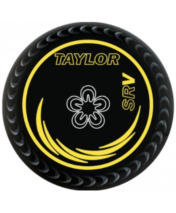 TAYLOR SRV BLACK LAWN BOWLS