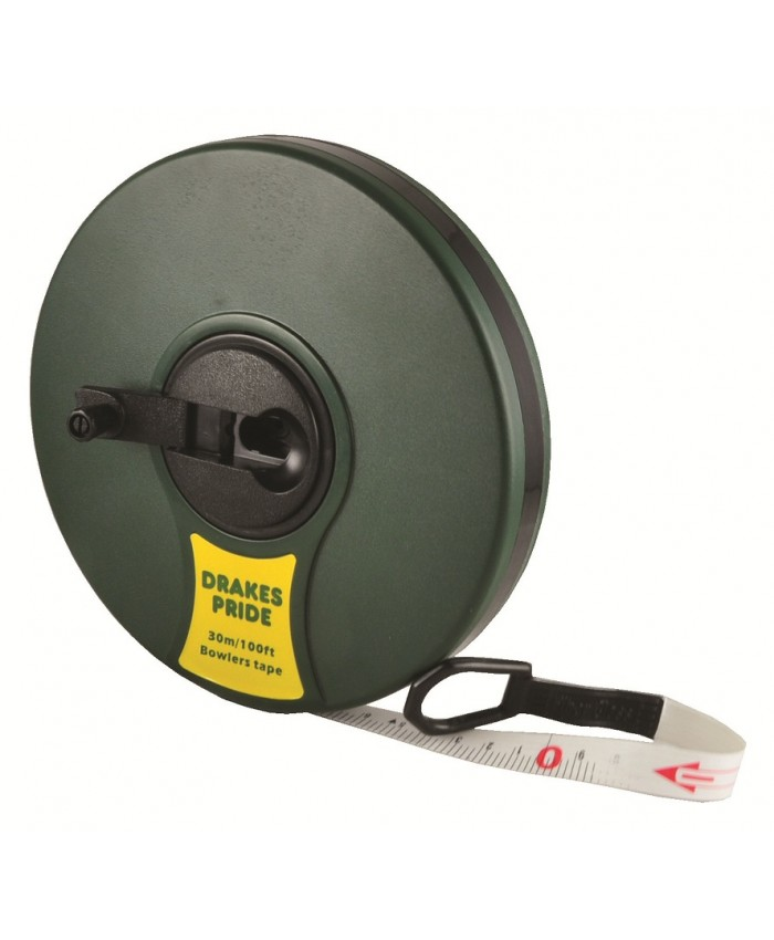DRAKES PRIDE 100 FOOT FIBRE MEASURING TAPE